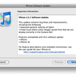 iPhone 2.2.1 firmware updates improved Safari stability, Camera Roll fix