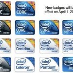 Intel Inside –redesign to simplify the brands