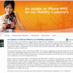 AT&T iPhone MMS Service launching September 25 announced