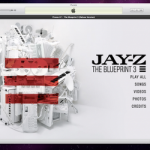 iTunes LP detailed digital experience by Jay Robinson