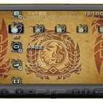 Sony Monster Hunter PSP-3000 special edition with modified analog stick