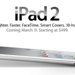 Apple unveils the iPad 2, prices starting at $499