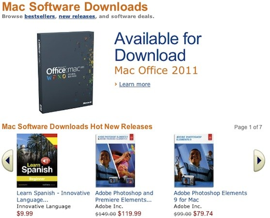 Amazon Mac Download Store boast with more than 250 titles launched