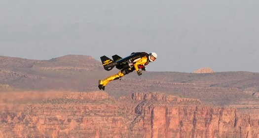 Jetman Jetpacked Grand Canyon