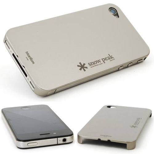 Snow Peak Titanium Case for iPhone 4