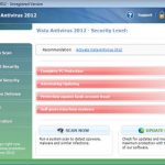 Removal of Vista Antivirus 2012 malware and fix for related errors