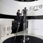 World's Tallest iPod Dock Worth $565k Sports Stereo System and Ladder