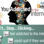Are you addicted to the internet? [Infographic]