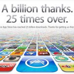 A Chinese downloads the 25 billionth App