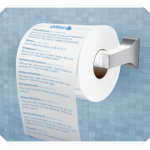 Print Your Twitter Feed Onto A Roll Of Toilet Paper
