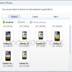 Galaxy S3 appears in Samsung Kies software