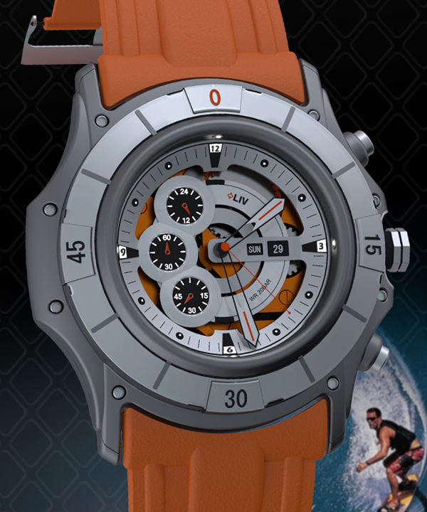 ADV Multifaceted Chrono Watch