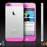 Red, Blue and Pink –Colored iPhone 5