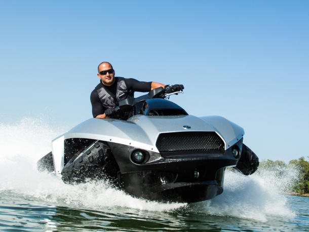 Quadski an ATV-Jetski in one