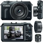 Canon EOS-M now available