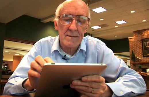 iPad for Grandpa