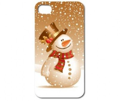 Hard Case Snowman for iPhone 5