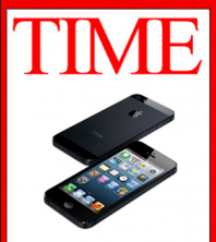 Time Magazine Gadget of the Year iPhone 5