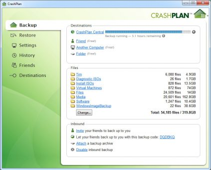crashplan-backup-crashplan-central