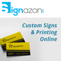 custom signs and printing online